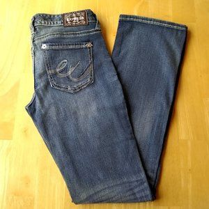 Express Barely Boot Stella Lowrise Stretch Jeans